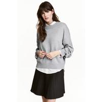 H&M Sweter 0447112006 Grey marl