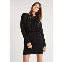 Just Cavalli Sukienka dzianinowa black JU621C069