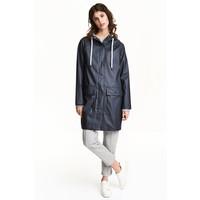 H&M Płaszcz przeciwdeszczowy 0477278003 Ciemnoniebieski