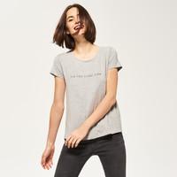 Reserved T-shirt z nadrukiem QF215-09M