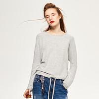 Reserved Sweter z melanżowanej dzianiny QR575-09X