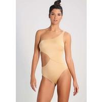Solid & Striped THE CLAUDIA Kostium kąpielowy shiny gold QS681D00Y
