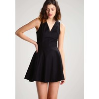 Sisley Sukienka letnia black 7SI21C064