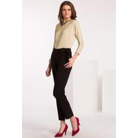 Monnari Spodnie z wiązaną szarfą SPOIMP0-16Z-TRU2370-K020D000-R36