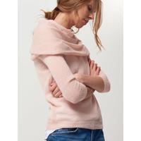 Mohito Pudrowy sweter z domieszką moheru QI278-39X