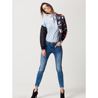 Mohito Jeansowe rurki z rozporkami SKINNY FIT QM552-55J