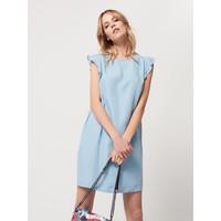 Mohito Wiosenna sukienka z jeansu QU556-95J