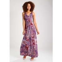 Anna Field Długa sukienka pomegranate/port royale AN621CAFI