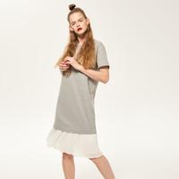Reserved Sukienka z plisowanym dołem QK303-09M