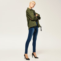 Reserved Jeansy z wysoką talią QR016-59J
