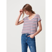 Mohito Sailor stripes t-shirt QL343-33X