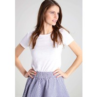Sisley ROUND NECK T-shirt basic white 7SI21D04K