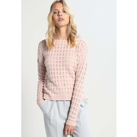 ONLY ONLNORIA Sweter peach whip/white melange ON321I0XW