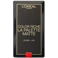 L'Oréal Paris Paletka pomadek do ust Color Riche La Palette Matte Bold 6x1g 100-AKD07O