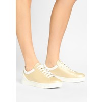 Emporio Armani LACE UP Sneakersy niskie gold/optical white EA811A00J