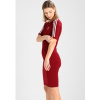 adidas Originals 3 STRIPES DRESS Sukienka etui collegiate burgundy AD121C039