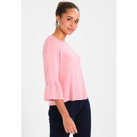 TOM TAILOR DENIM COSY BELL SLEEVE Sweter dusty rose TO721I08F