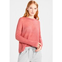 TOM TAILOR DENIM COZY CREW NECK Sweter dusty rose pink TO721I07X