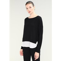 ONLY ONLROSANA SHEN MIX Sweter black/cloud dancer ON321I13H