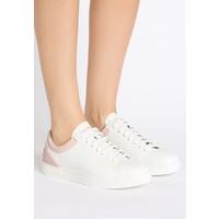 Emporio Armani LACE UP Sneakersy niskie white/nude EA811A00J