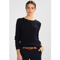 Tommy Hilfiger PASCALINO CABLE Sweter midnight TO121I06X