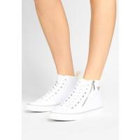 Emporio Armani TOP Sneakersy wysokie white/white EA811A00P