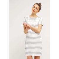 Vila VITINNY NEW DRESS Sukienka z dżerseju snow white/total eclipse V1021C0JP