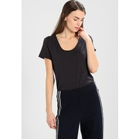 Marc O'Polo SHORT SLEEVE ROUNDED T-shirt basic charcoal dust MA321D0HB