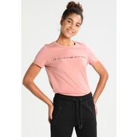 Vero Moda VMFRENCH T-shirt z nadrukiem ash rose VE121D0WJ