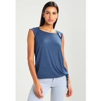 Ragwear MIKE T-shirt z nadrukiem denim blue R5921D02Z