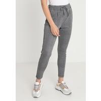 ONLY ONLPOPTRASH CHECKY PANT Spodnie materiałowe medium grey ON321A0TK