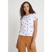 ONLY ONLBELLA DOT T-shirt z nadrukiem bright white/dazzling blue ON321D1G6