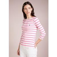 Polo Ralph Lauren STRIPED MERC Bluzka z długim rękawem nevis/baja pink PO221D03G