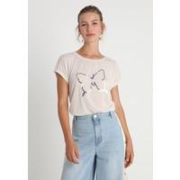 ONLY ONLELVA TOP T-shirt z nadrukiem oatmeal ON321D1H4