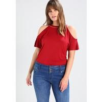 Anna Field Curvy T-shirt z nadrukiem red AX821D000