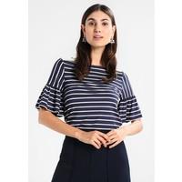 Anna Field T-shirt z nadrukiem dark blue/off white AN621D0DC