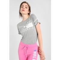 Hollister Co. EASY SPORTY CORE T-shirt z nadrukiem grey H0421D024