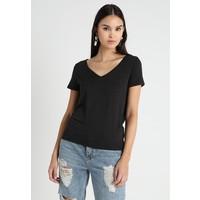 Vila VINOEL V NECK T-shirt basic black V1021D0KF