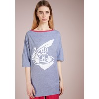 Vivienne Westwood Anglomania T-shirt z nadrukiem blue VW621D00S