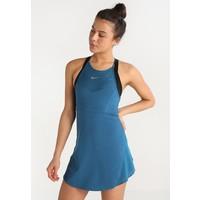 Nike Performance MARIA Sukienka sportowa blue force/metallic silver N1241L00U