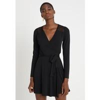 mint&berry Sukienka z dżerseju black M3221C0QE