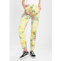 G-Star PHARRELL WILLIAMS ELWOOD Spodnie materiałowe light yellow/multicoloured GS121A0I5