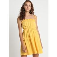 Topshop TASSLE TIER SUNDRESS Sukienka letnia yellow TP721C0Z2