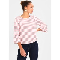 TOM TAILOR DENIM STRIPED BELL SLEEVE Bluzka z długim rękawem rose TO721I08G