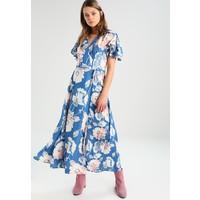 French Connection CARI MIDI TEA DRESS Długa sukienka vintage blue FR621C0BU