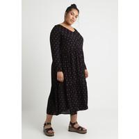 Zizzi Długa sukienka black Z1721C03N