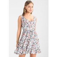 Glamorous Petite DITSY DRESS Sukienka letnia white/blue GLB21C020
