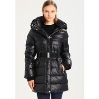 UGG VALERIE BELTED COAT Płaszcz puchowy black UG121G000