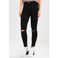 Topshop Jeansy Skinny Fit black TP721N04X