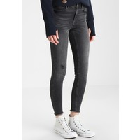 Pieces PCFIVE DELLY Jeansy Skinny Fit light grey denim PE321N04I